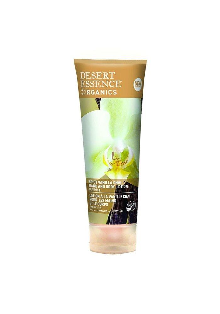 Desert Essence - Lotion main et corps - Vanille chai 237 ml