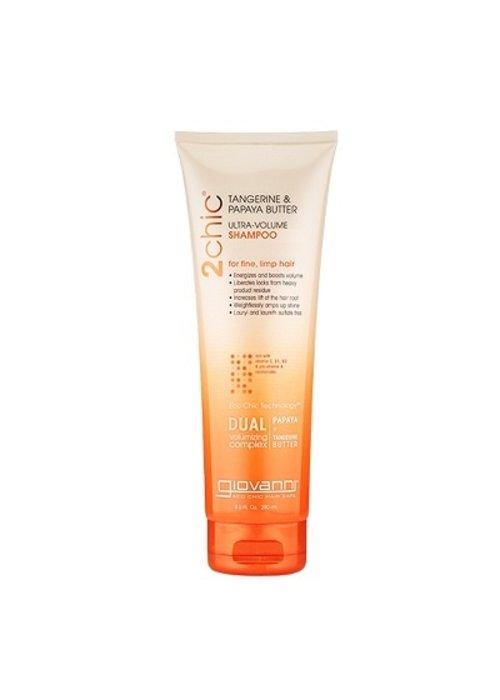 Giovanni Giovanni - Shampoing Ultra Volume - Tangerine et papaye - 250ml
