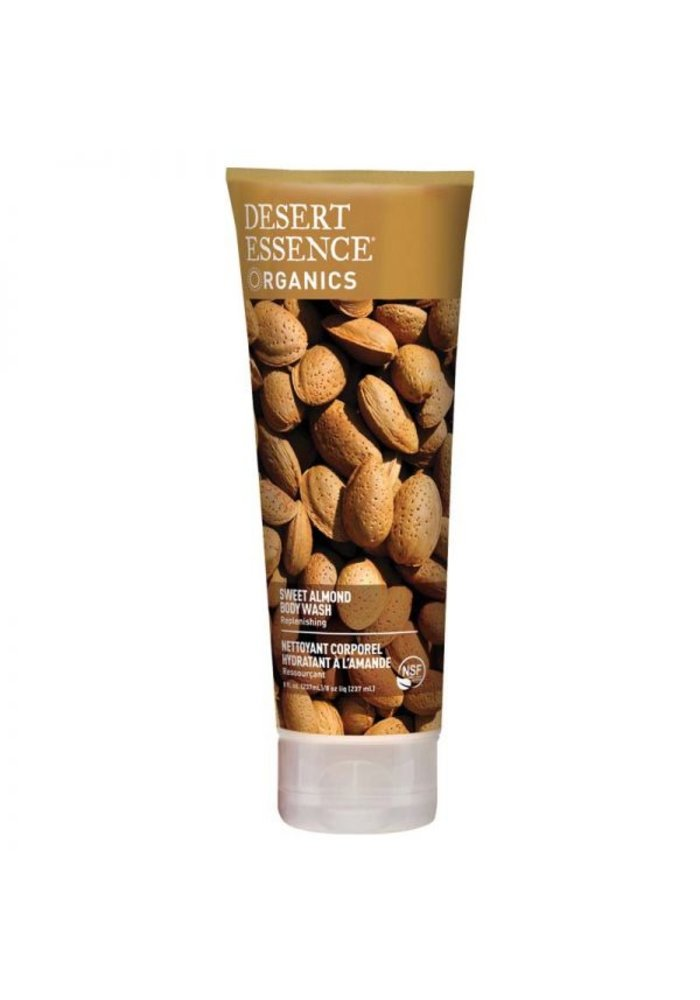 Desert Essence - Nettoyant Corporel - Amande 237 ml