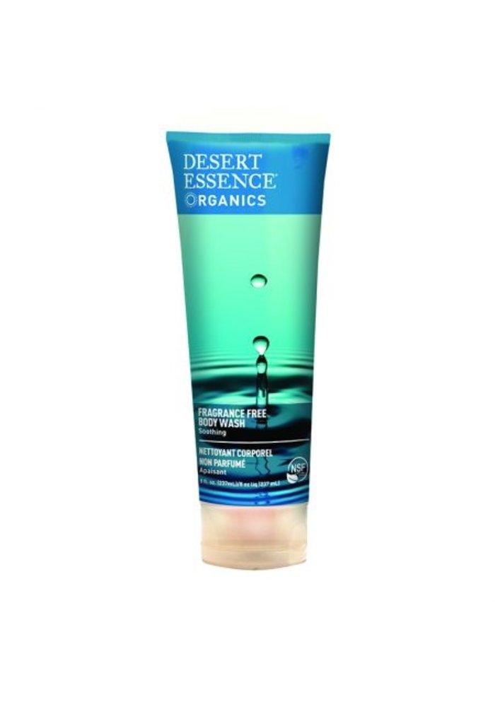 Desert Essence - Nettoyant Corporel - Sans fragrance 237 ml