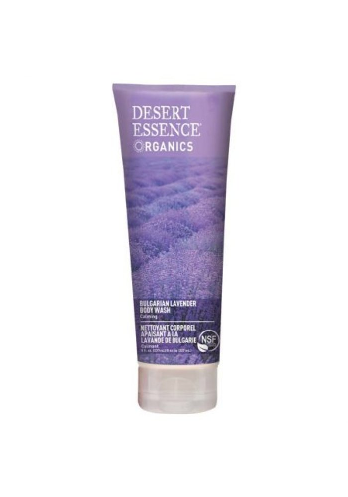 Desert Essence - Nettoyant Corporel - Lavande de Bulgarie 237 ml