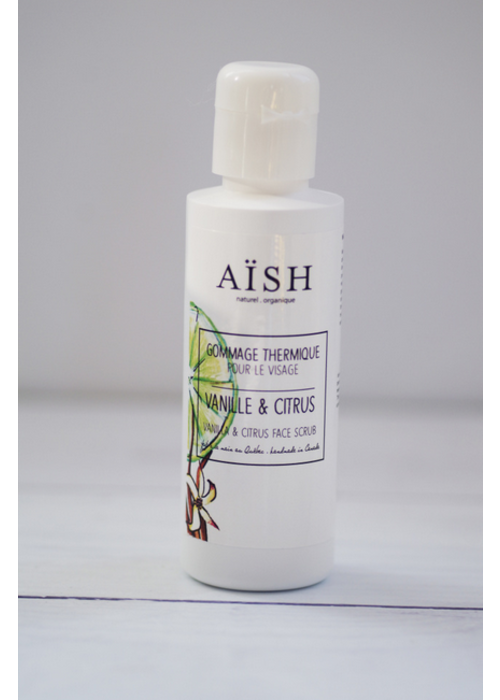 Aïsh Beauté Aïsh Beauté - Gommage Thermique Citron & Lime - peaux sensibles et sèches 100 ml