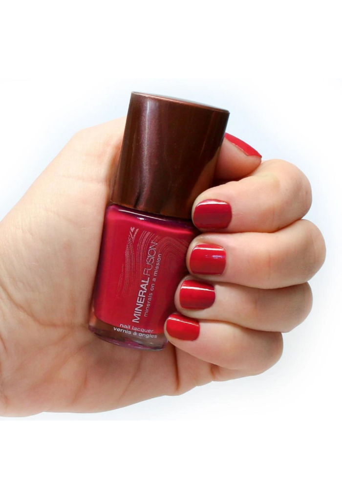 Mineral Fusion - Vernis à ongles Crimson Clay