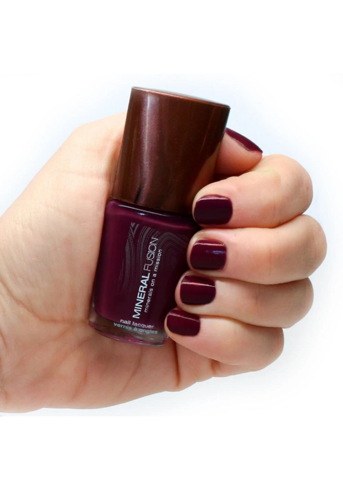 Mineral Fusion - Vernis à ongles - Grenat