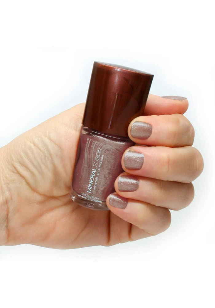 Mineral Fusion - Vernis à ongles - Platine pailleté