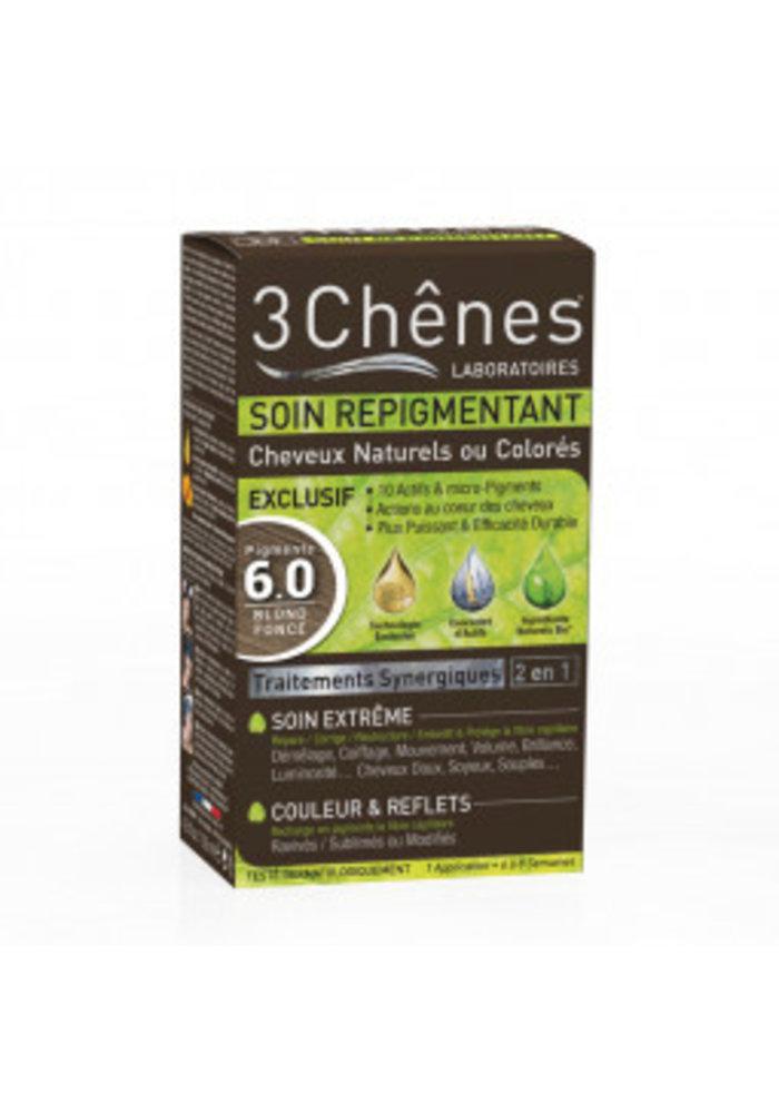 3 Chênes -  Soin repigmentant 6.0 Blond foncé