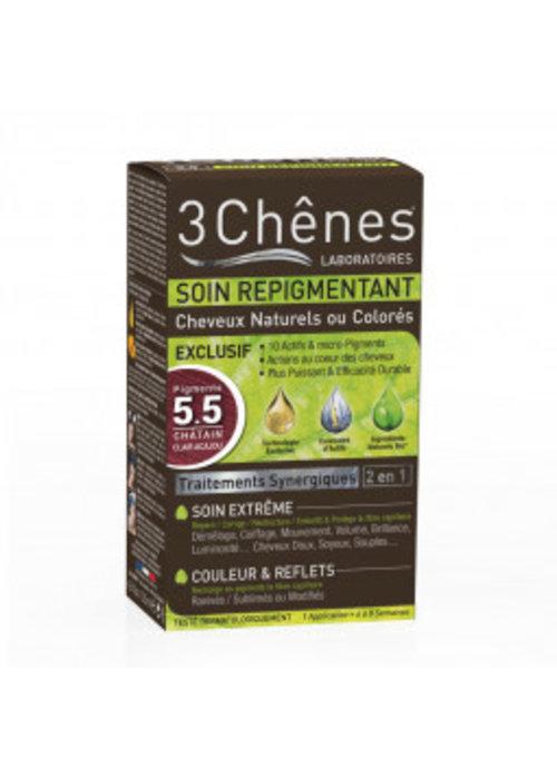 Trois Chênes 3 Chênes - Soin repigmentant 5.5 Châtain clair acajou