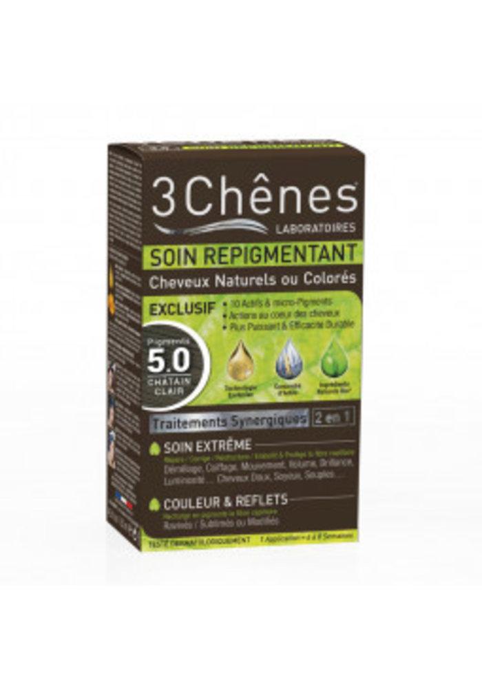 3 Chênes - Soin repigmentant 5.0 Châtain clair