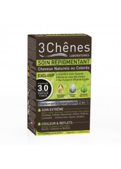 Trois Chênes 3 Chênes - Soin repigmentant 3.0 Châtain foncé