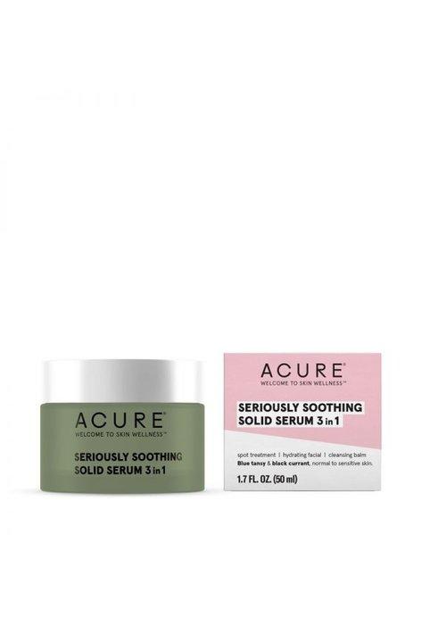 Acure Acure - Sérum Apaisant solide 3 en 1 - 50ml