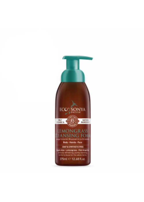 Eco by Sonia Driver Eco by Sonya Driver - Nettoyant en mousse Citronelle visage, mains et corps 375ml