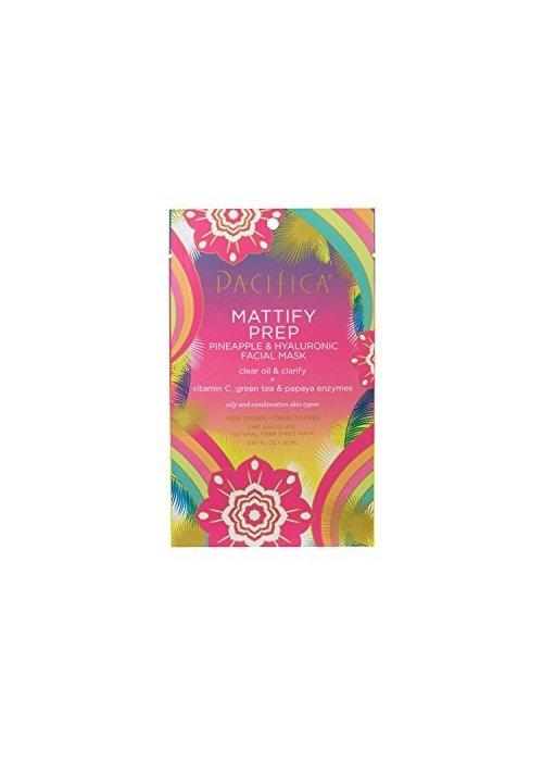 Pacifica Pacifica - Masque tissu Mattify Prep - Ananas & Acide Hyaluronique (usage unique)