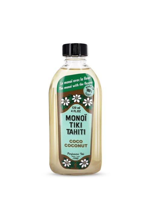 Parfumerie Tiki Aurys - Monoï Tiki Tahiti Coconut 120ml