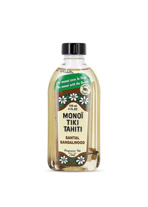 Parfumerie Tiki Aurys - Monoï Tiki Tahiti Bois de Santal 120ml