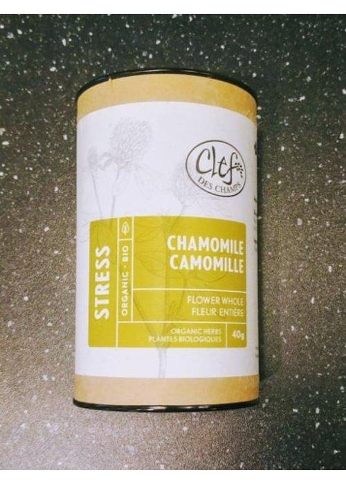Clef des champs Clef des Champs - Tisane Camomille bio en tube 40g