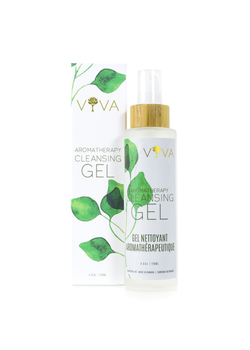 Viva organics Viva organics - Gel nettoyant aromathérapeutique 120ml