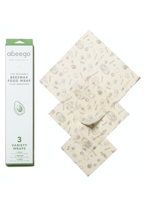 Abeego Abeego - Wrapp alimentaire Réutilisable