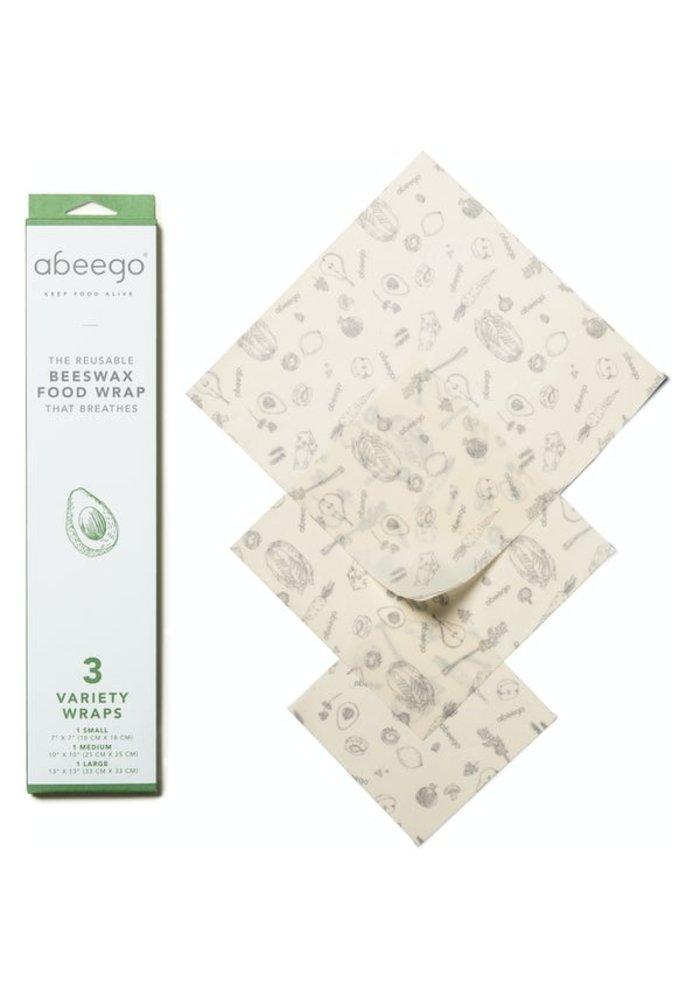 Abeego - Wrapp alimentaire Réutilisable