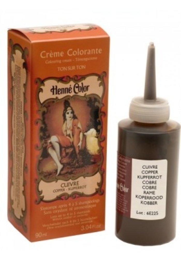 Henné Color - Crème colorante Cuivre