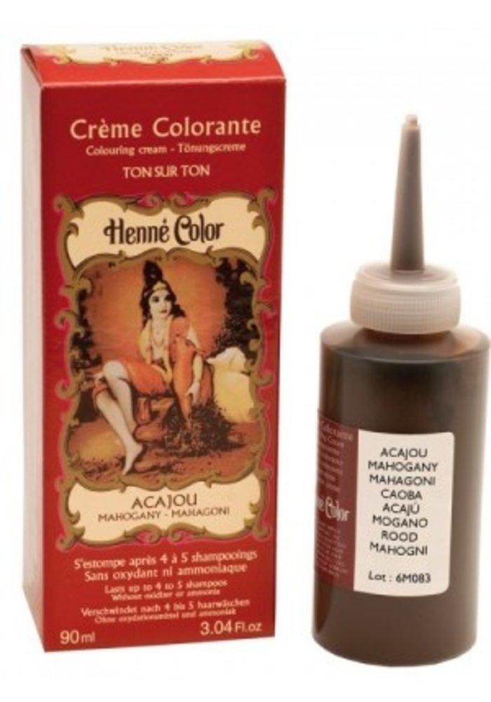 Henné Color - Crème colorante Acajou