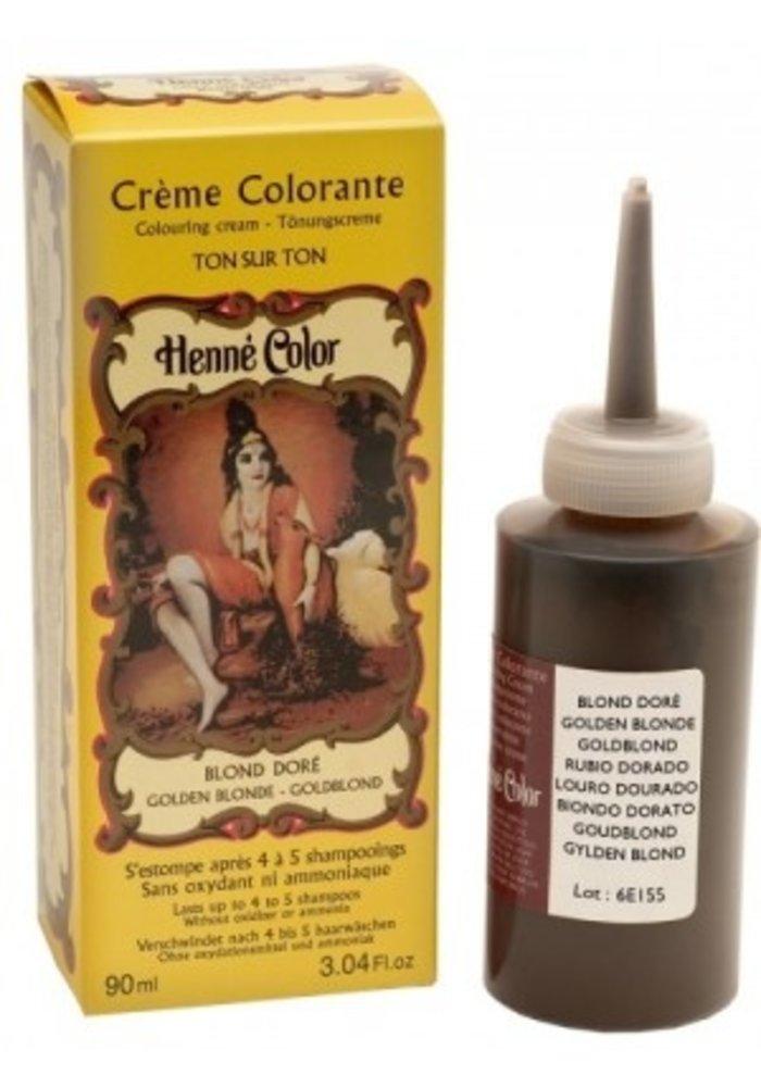 Henné Color - Crème colorante Blond Doré