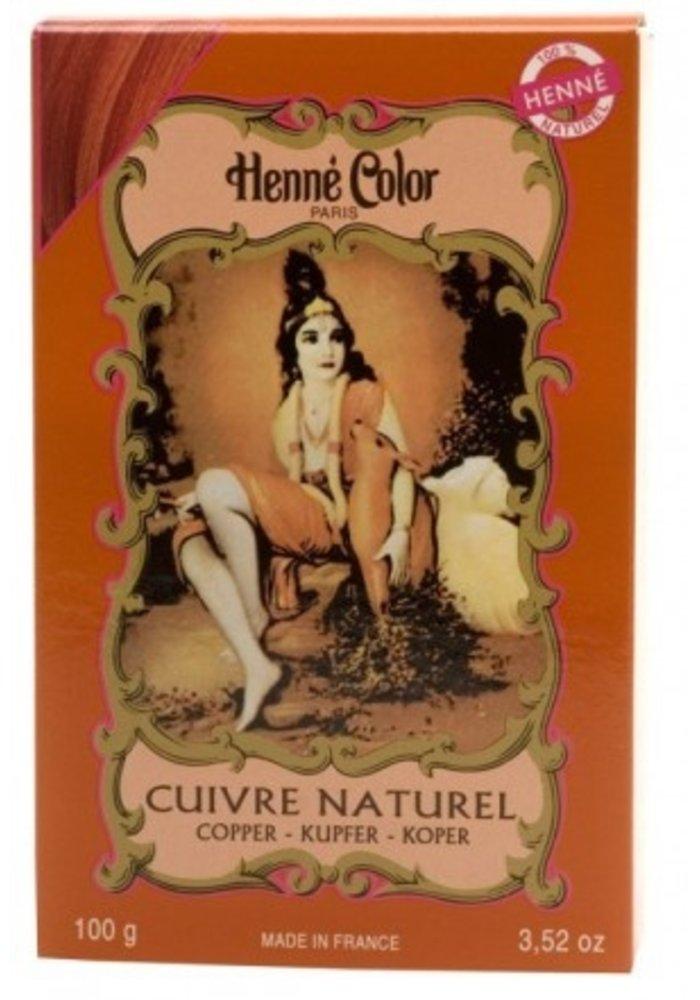 Henné Color - Poudre Cuivre