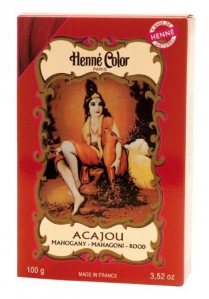 Henné Color - Poudre Acajou