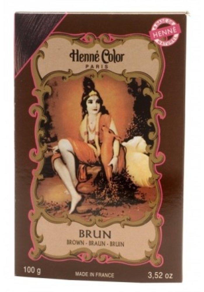 Henné Color - Poudre Brun
