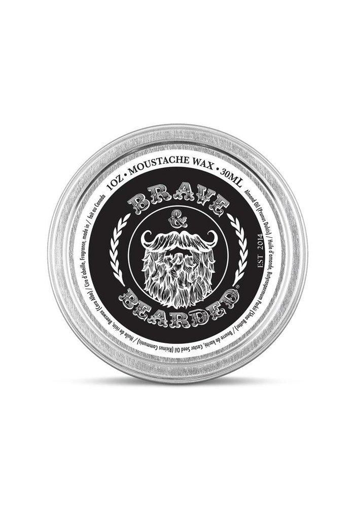 Brave and bearded - Cire à moustache