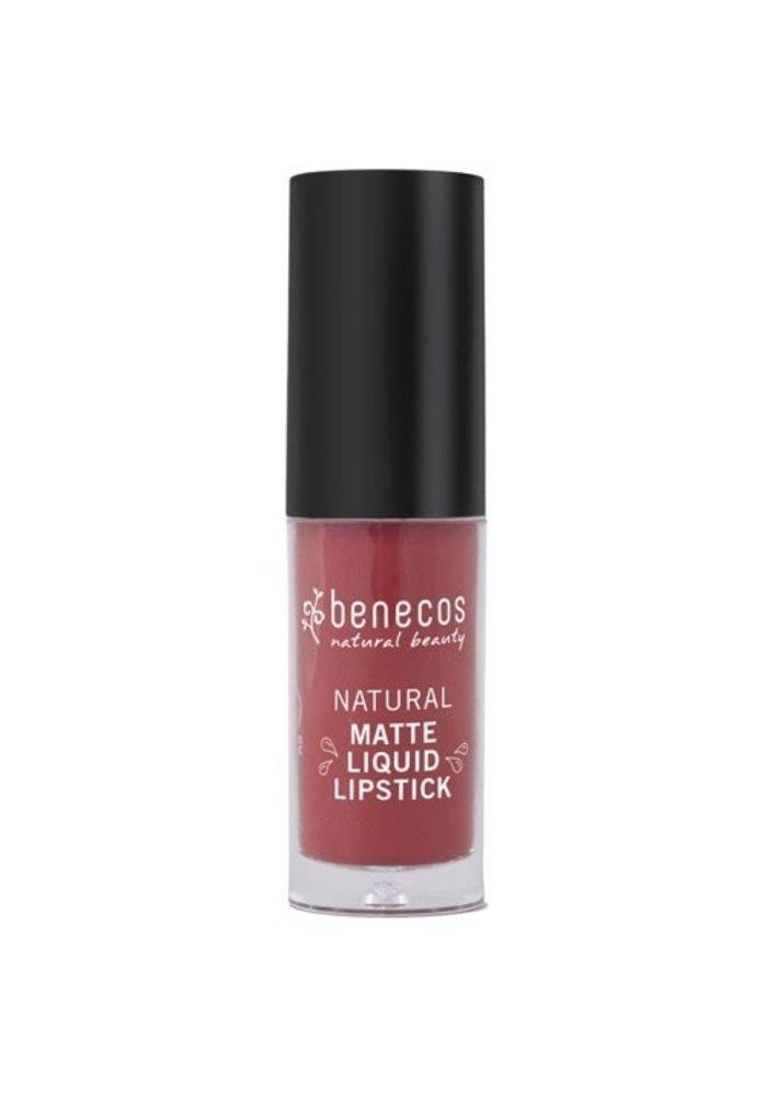 Benecos - Rouge à lèvre mat - Trust in Rust
