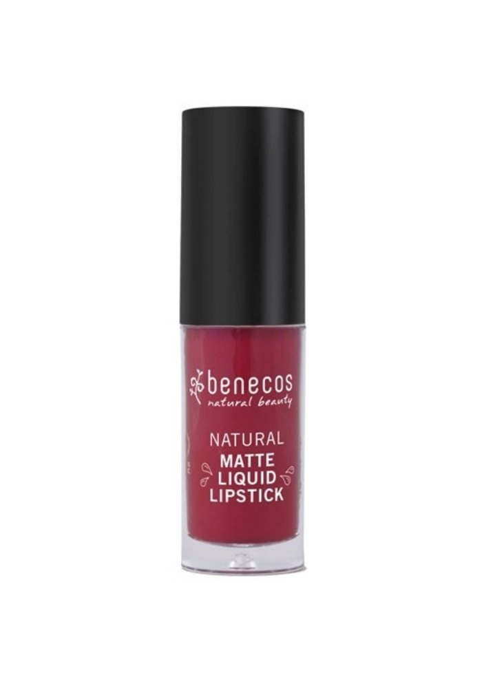 Benecos - Rouge à lèvre mat - Bloody Berry