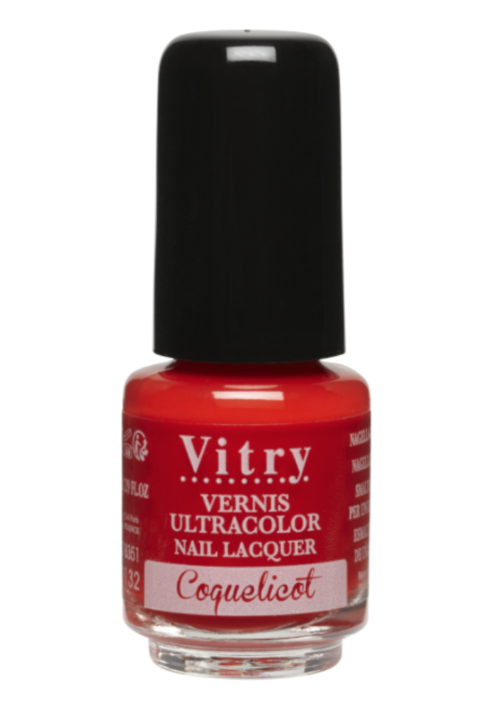 Vitry - Vernis à ongles - Coquelicot