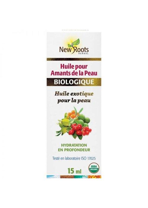 New Roots New Roots - Huile pour Amants de la peau , certifiée biologique 15ml