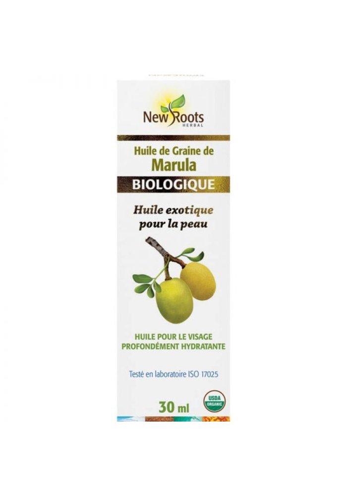 New Roots - Huile de graines de Marula, certifiée biologique 30ml