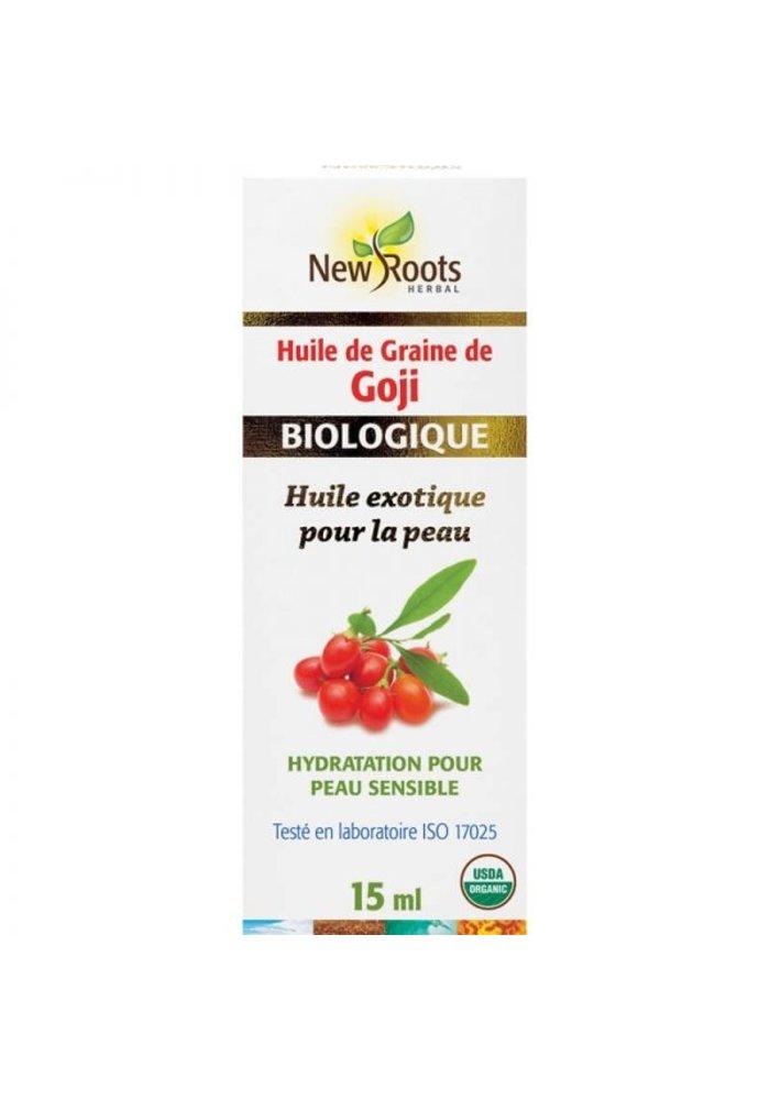 New Roots - Huile de graines de Goji, certifiée biologique 15ml