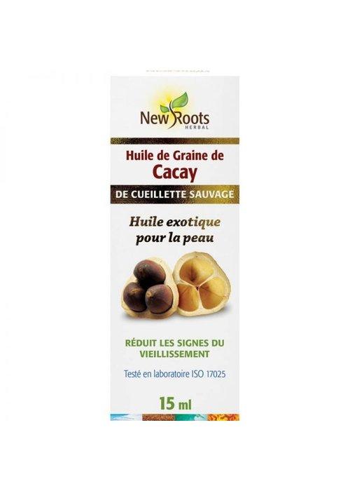 New Roots New Roots - Huile de graine de Cacay, certifiée biologique 15ml