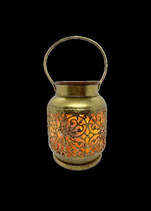La Luna La Luna - Lampe de sel rose de l'Himalaya avec plaque en céramique chauffante pour huiles essentielles JAIPUR