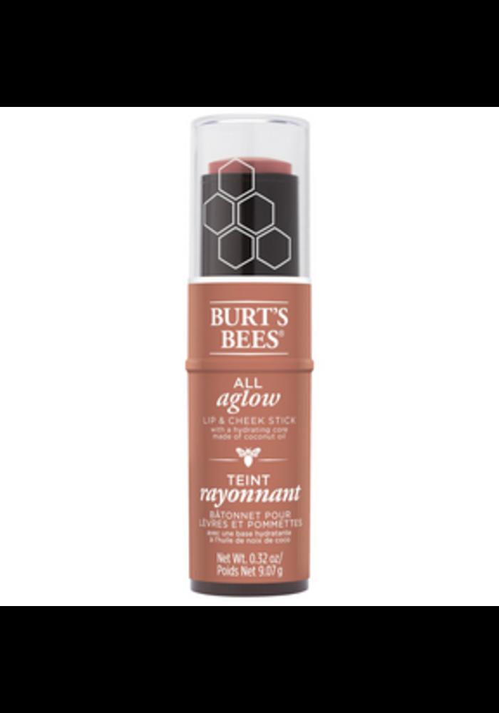 Burt's Bees - Bâtonnet pour lèvres et pommettes - Peach Pond