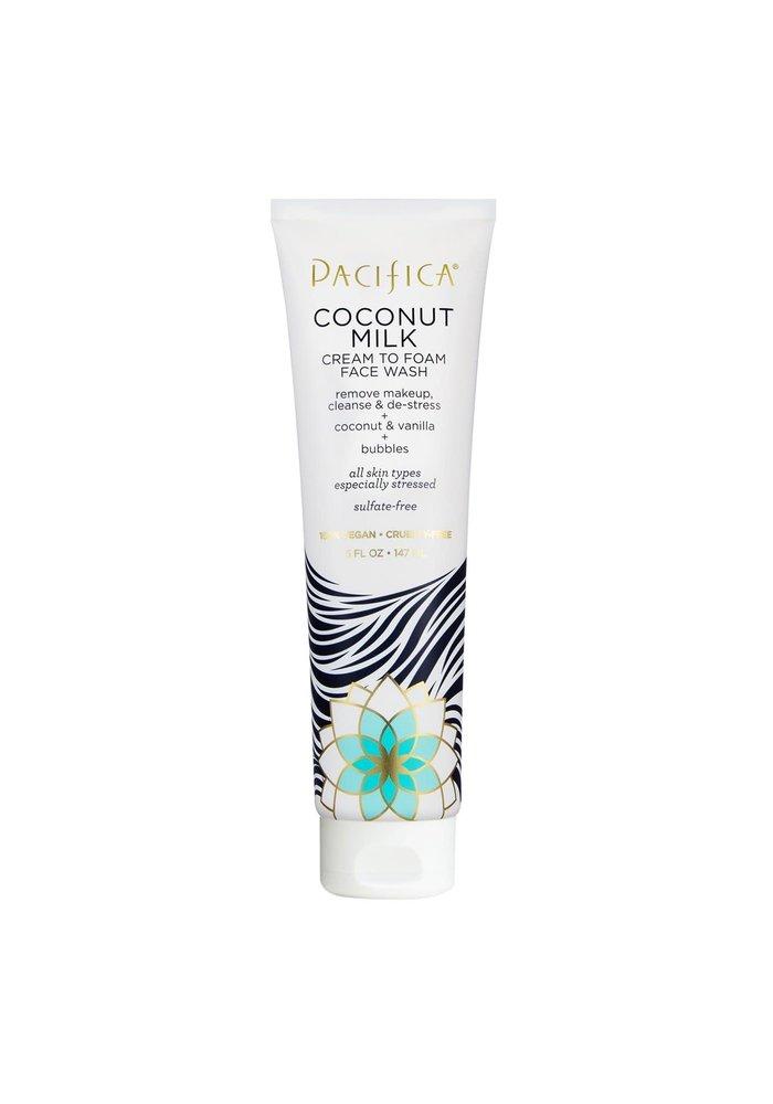 Pacifica - Démaquillant & Nettoyant &  Déstressant Coconut et Vanille 147ml