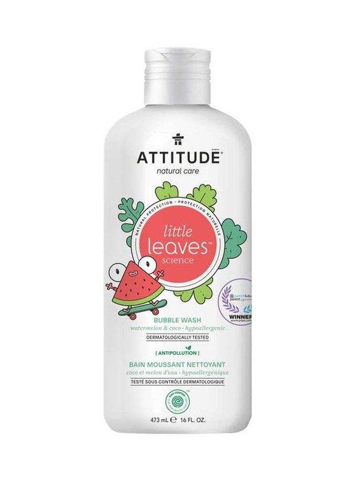 Attitude Attitude - Bain moussant nettoyant - Coco et melon d'eau 473ml