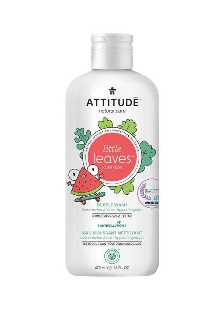 Attitude - Bain moussant nettoyant - Coco et melon d'eau 473ml