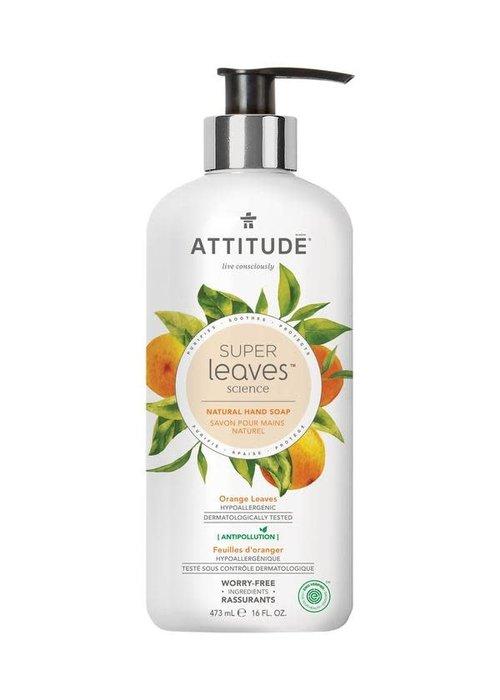 Attitude Attitude - Savon pour les mains Naturel - Feuilles d'Oranger 473ml