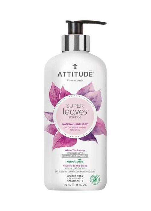 Attitude Attitude - Savon pour les mains Naturel - Feuilles de Thé Blanc 473ml