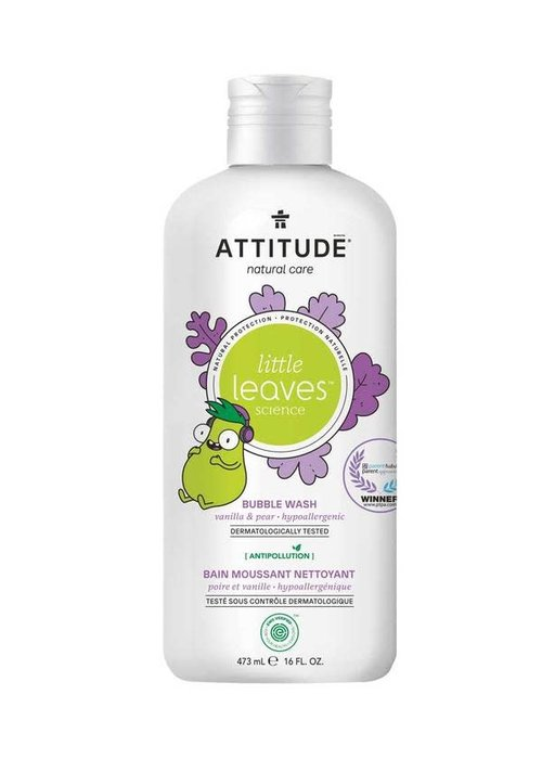 Attitude Attitude - Bain moussant nettoyant - Vanille et poire 473ml