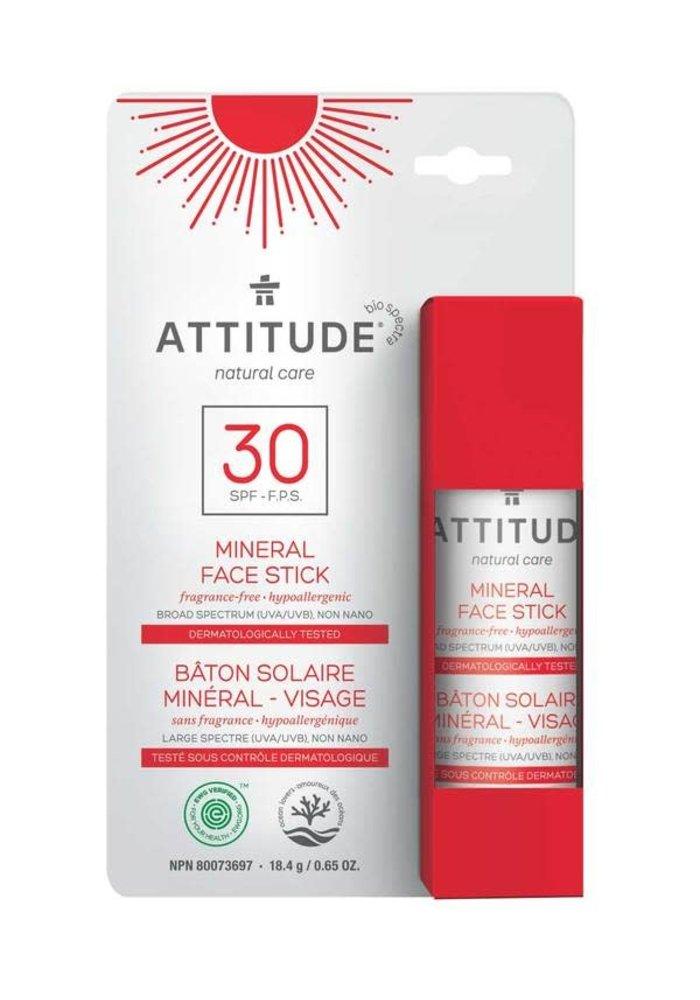 Attitude - Bâton solaire visage FPS 30 - Adulte
