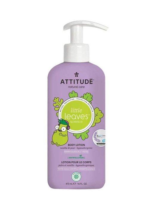 Attitude Attitude - Lotion hydratante corps - Vanille et poire 473 ml
