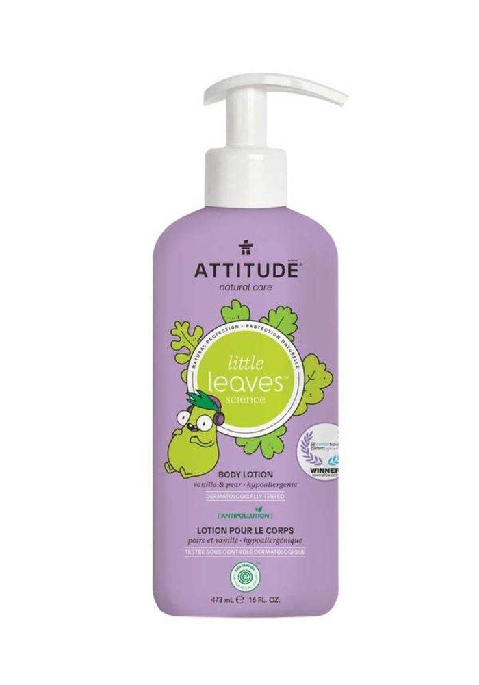 Attitude - Lotion hydratante corps - Vanille et poire 473 ml