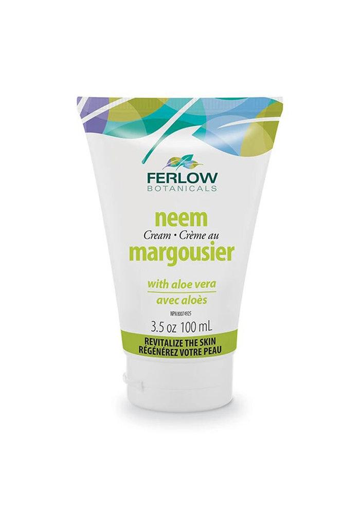 Ferlow Botanicals - Crème visage - Margousier avec aloès 100ml