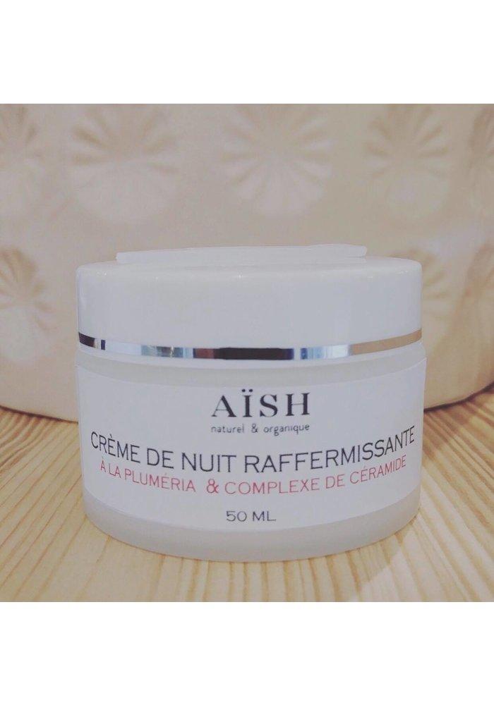 Aïsh Beauté - Crème de nuit Plumeria