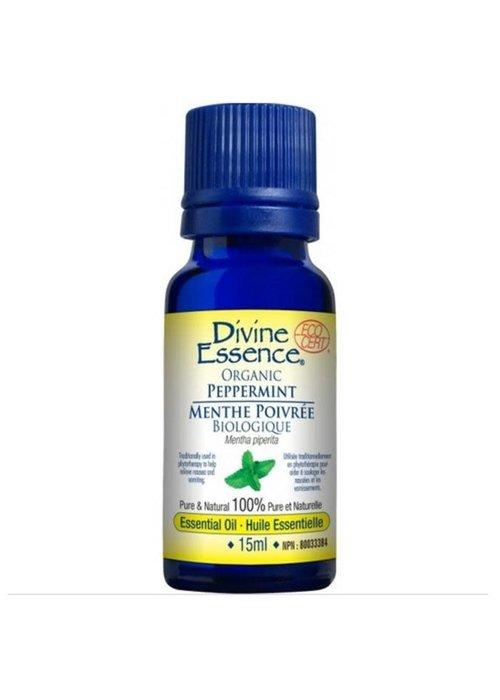 Divine essence Divine Essence - Huile essentielle bio - Menthe Poivré 15ml